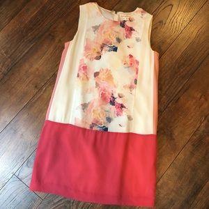 Rebecca Taylor 100% silk floral dress size 2